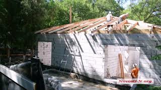 Видео Новости-N: В центре Николаева незаконное строительство