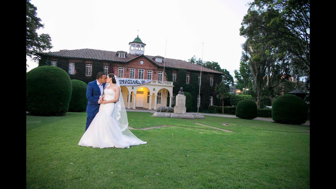 Video de boda perfecta samira carlos capilla gimnasio for Gimnasio moderno