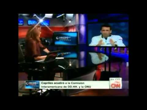 Capriles en CNN 08 08 2013