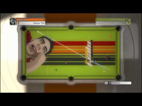 Pool Nation-EP1-Ziggy and pool.  Give him a cue stick and rack 'em up.