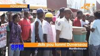 Journal Televise - 4 Novembre 2013 - Planet Haiti