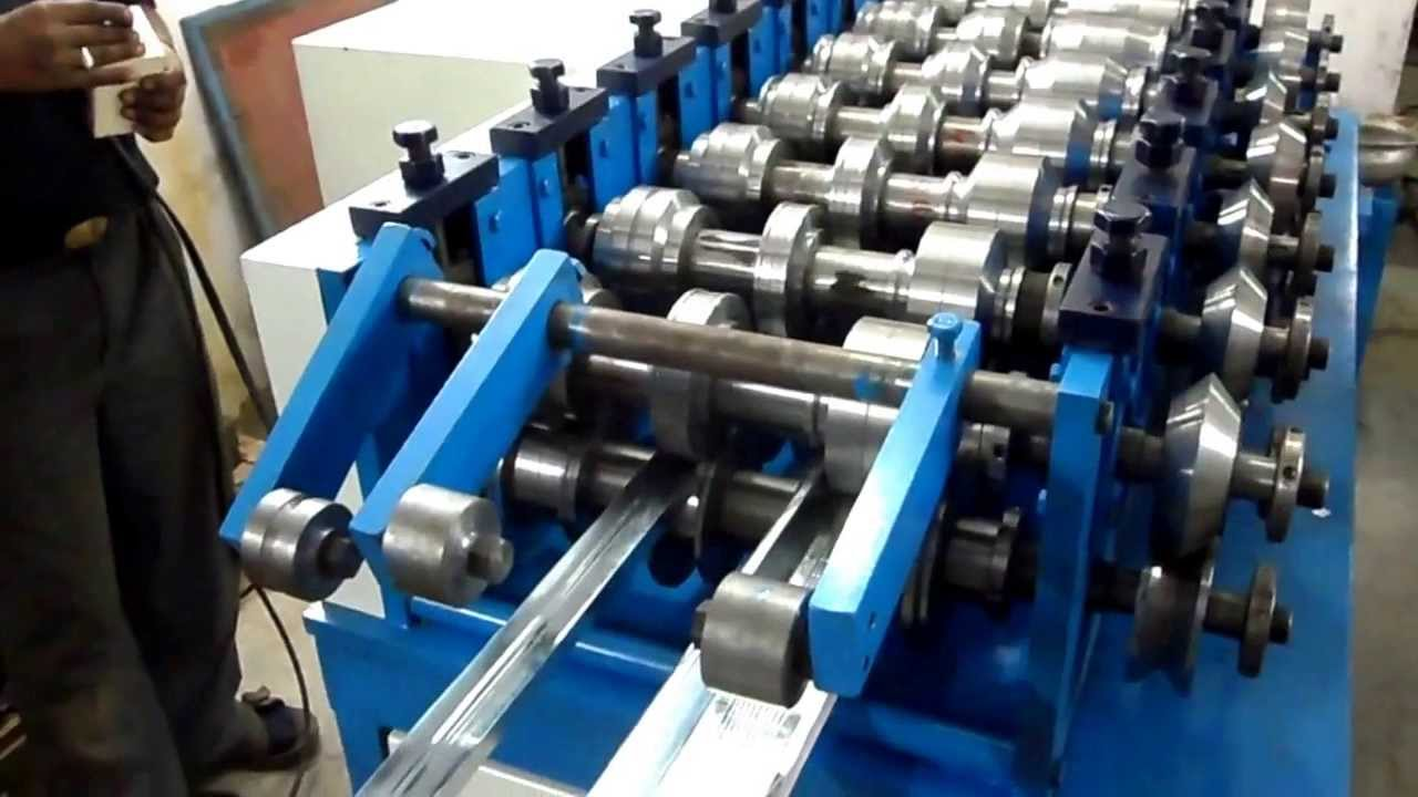 C To Z Purlin Roll Forming Machine Youtube