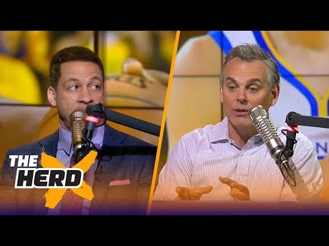 Chris Broussard on what's next for LeBron, the Warriors losing without Curry and more | THE HERD