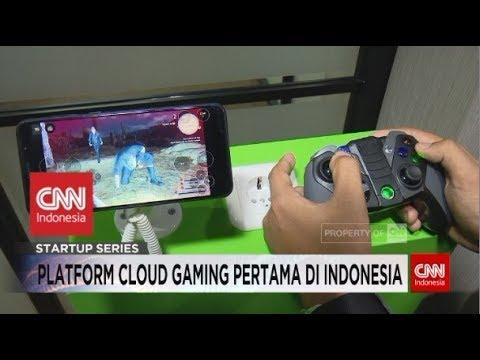 Pertama Di Indonesia! Platform Game Berbasis Cloud