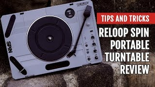 Review: Reloop SPIN Portable Turntable | Tips and Tricks
