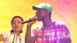 Pharrell Feels Live At Global Citizen Festival Hamburg