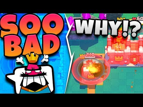 SERIOUSLY!? - I'M GETTING TROLLED! - CLASH ROYALE