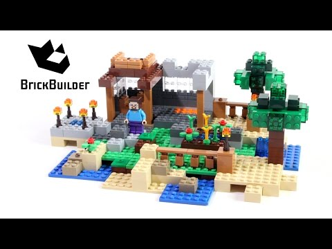 Lego Minecraft 21116 Crafting Box Version 2 Lego Speed Build