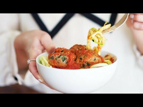 EAT | Loaded Italian Meatballs Recipe, Gluten Free, Paleo, Dairy Free (feat Lexi's Clean Kitchen)