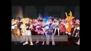 MMORPG【 Lucent Heart】ルーセントハート Dance 2012.6.22 イベント