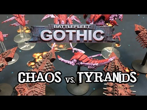 Throwback Thursdays Ep 111 - Battlefleet Gothic - Tyranids vs. Chaos