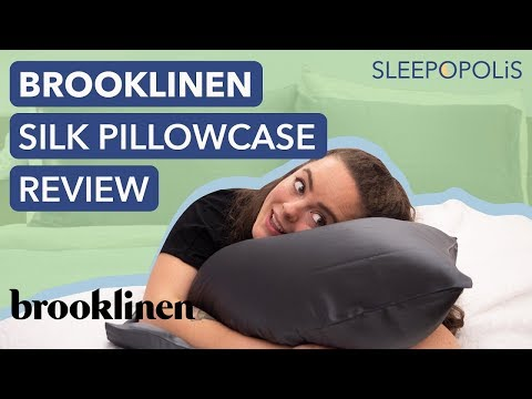 Brooklinen Mulberry Silk Pillowcase Review - Is Silk Good For Your Hair?