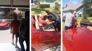 Son Surprises Dad With Dream Car