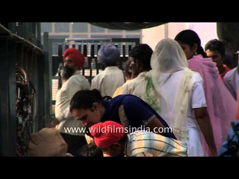 Glimpse of daily life in Amritsar - Punjab