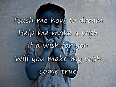 Robin McAuley Teach Me How To Dream with lyrics HD