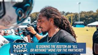 Tre Boston Signs with Carolina