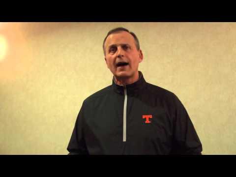 Carson Newman Football: Rick Barnes Interview 3-4-16