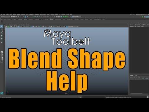 The Maya Toolbelt - Blend Shape Help!