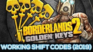 Borderlands 2 - Working Shift Codes For Golden Keys (2019) - All Consoles PS3, PS4, XboxOne & PC