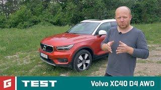 Volvo XC40 D4 AWD - SUV - TEST - GARAZ.TV - Rasto Chvala
