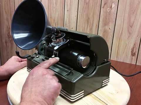 Edison Ediphone Voicewriter Wax Cylinder Dictation Machine