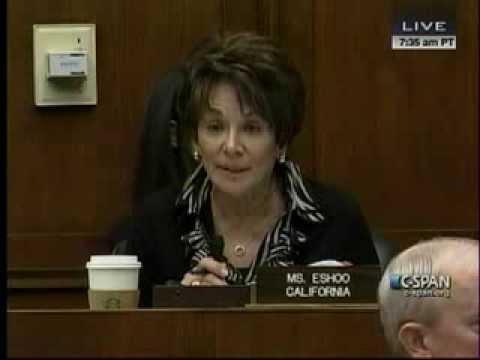 Schnittshow.com: U S House of Representatives Rep. Anna Eshoo (D-Ca) Blasts Obamacare Site