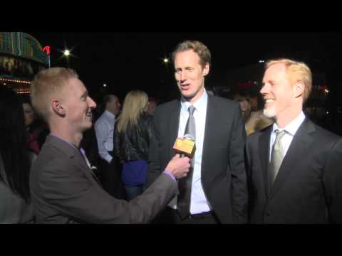 "Jon Lucas And Scott Moore (writers Of ""The Hangover"") Interview - ""21 And Over"" Movie Premiere"