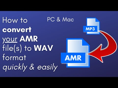 How to Convert MP3 to AMR (PC & Mac users only)