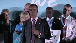 Brexit Party Conference Tour - We Are Ready Telford