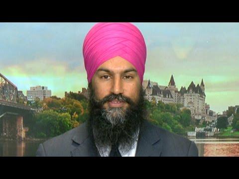Jagmeet Singh steps down as Ontario NDP deputy leader during federal bid