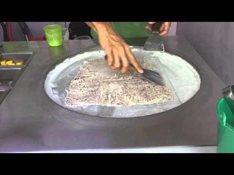Ice Cream Rolls - Fresh Made in Thailand (Original Location)