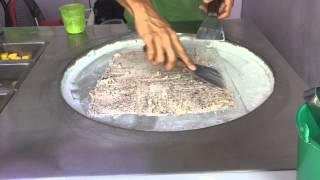 Fresh Ice Cream in Thailand