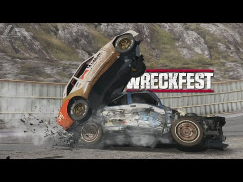 I BELIEVE I CAN FLY!! / Destruction Derby + Moon Gravity   - WRECKFEST MODS