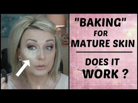 """""""BAKING"""" FOR MATURE SKIN 