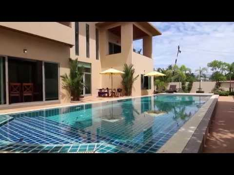 4 Bedroom Phuket Villas For Rent - Pensri Villa -  Thailand Holiday Homes