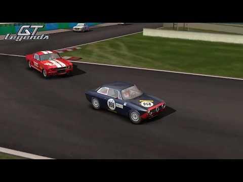 GT Legends - Alfa Romeo  GTA at Magny-Cours Club |