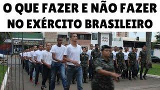 Baixar O Que FAZER e NÃO FAZER no Exército Brasileiro - Dicas Para os Recrutas!