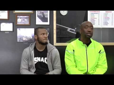 Julian Williams & Stephen Edwards Prep w/ SNAC for their PBC Debut