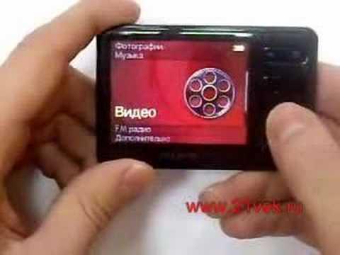 Видеообзор mp3-плеера Creative Zen