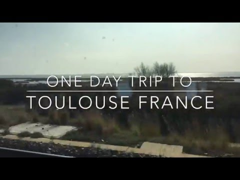 ONE DAY IN TOULOUSE FRANCE