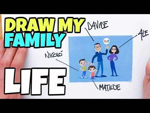 DRAW MY FAMILY LIFE GBR - Speciale 300.000 Iscritti