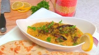 Masoor Dal Fry Recipe Video By Bhavna - Lentil Curry