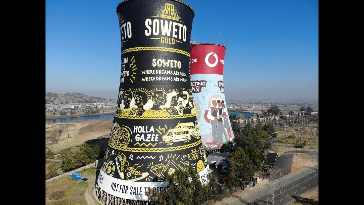 Soweto Gold Tower Takeover - South Africa