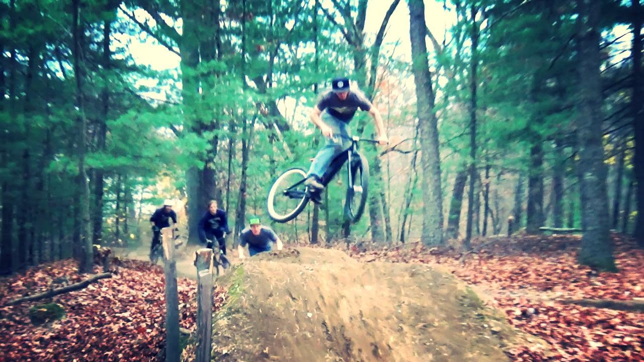shrewsbury ma bmx dirt jumps youtube