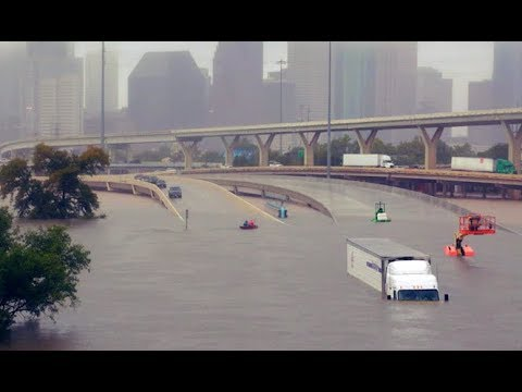 Hurricane Harvey's Devastation a Snapshot of What's to Come Due to Climate Change