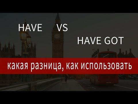 Английский Has Got, Have Got Has Got, правило