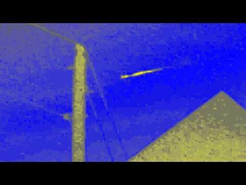 Meteor Debris or Alien Spaceship? (image enhanced version)