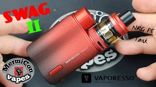 Swag 2 with NŔG PE Tank by Vaporesso