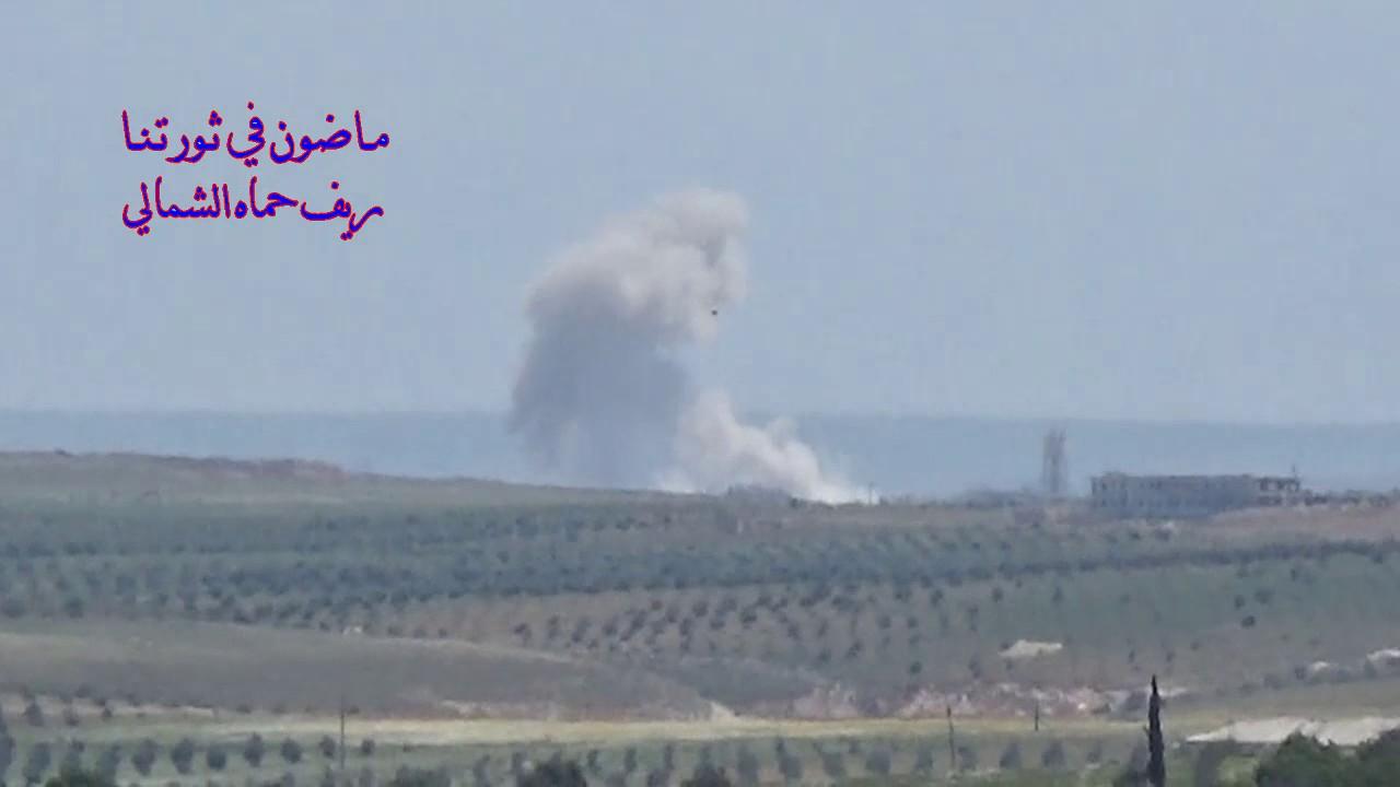 Airstrike on Tayibat al Imam