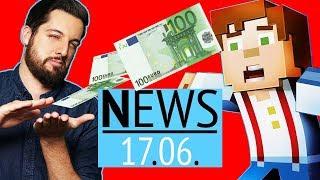100 Euro für eine Minecraft-Episode - News